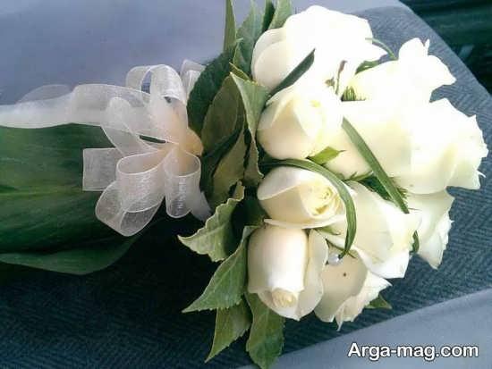 دسته گل عروس زیبا و مدرن