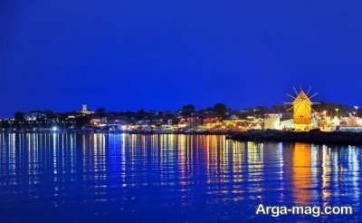 یک استراحتگاه تفریحی در کنار دریای سیاه