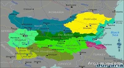 جمعیت مردم کشور بلغارستان