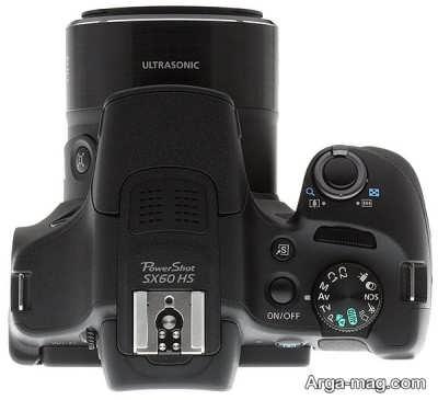 بررسی شاتر دوربین SX60