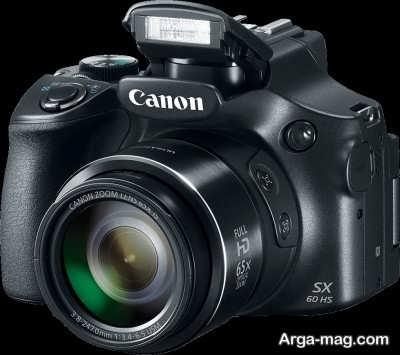 آشنایی با دوربین پیشرفته کانن SX60