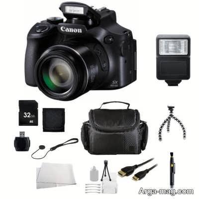 بازنگری دوربین کانن SX60