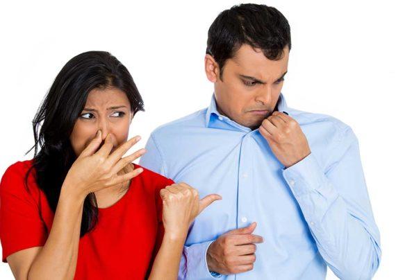 بررسی علل تغییر بوی عرق بدن