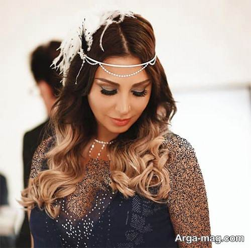آرایش موی مجلسی عربی