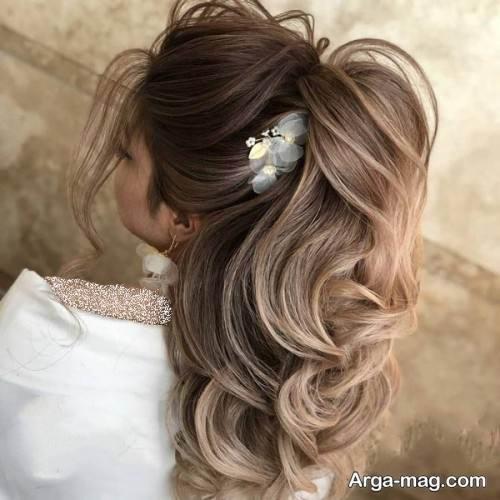 آرایش موی شیک و باز عربی