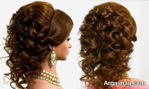 مدل آرایش موی باز عربی