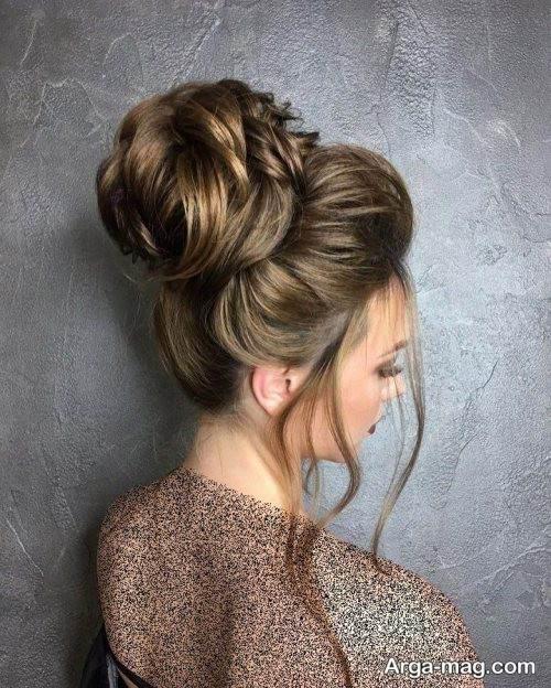 آرایش موی بسته و زیبا