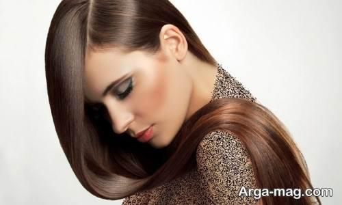 رنگ مو زیبا دخترانه