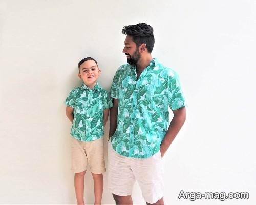پیراهن ست برای پدر و پسر