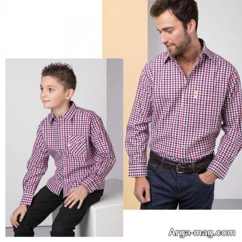 ست لباس رسمی پدر و فرزند