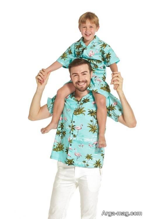 پیراهن ست پدر و پسر
