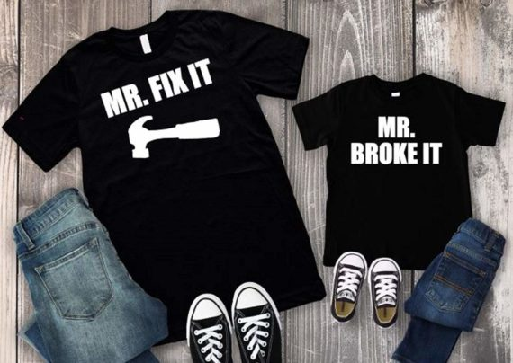 لباس پدر و پسر