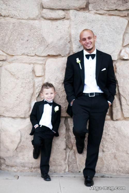 لباس مجلسی ست برای پدر و پسر