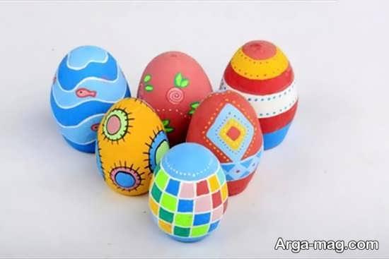 دیزاین تخم مرغ بارنگ