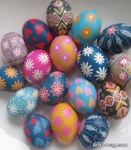 ایده جذاب برای تزیین تخم مرغ