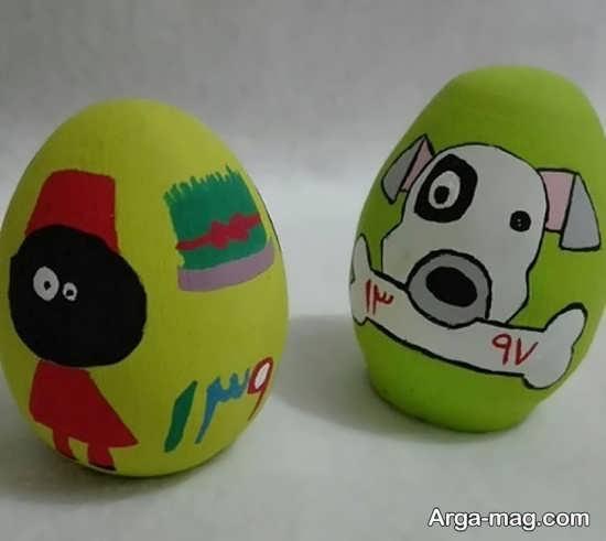 تخم مرغ رنگ آمیزی شده