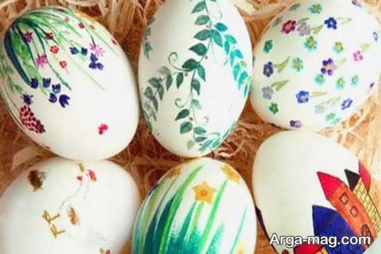 ایده رنگ کردن تخم مرغ