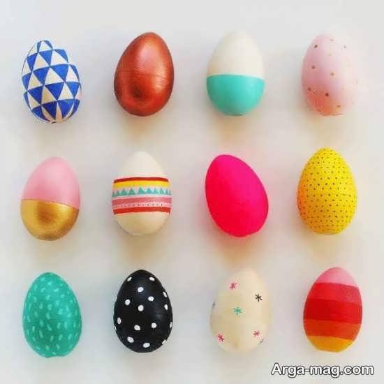 تخم مرغهای رنگی زیبا