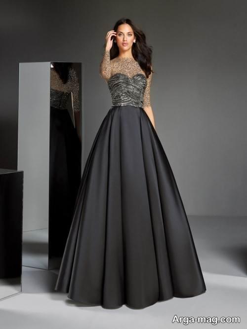 لباس دکلته بلند
