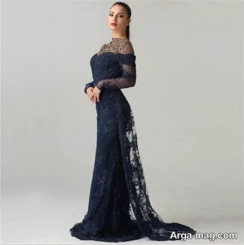 مدل لباس دکلته زنانه