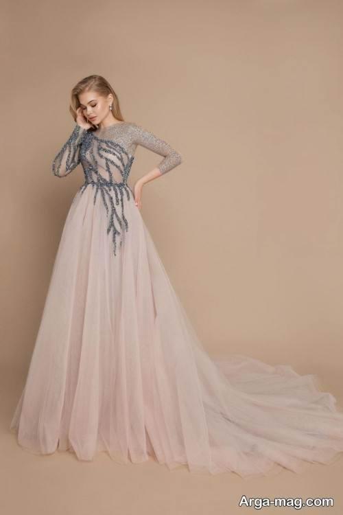 لباس دکلته کار شده