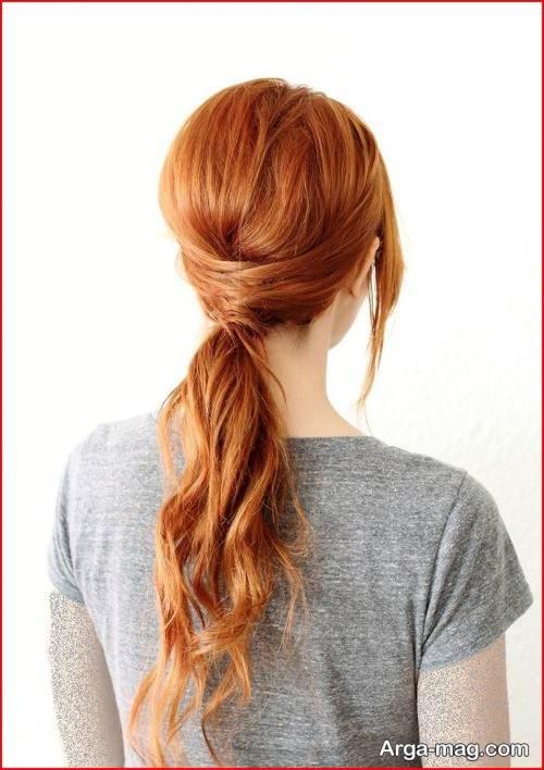 آرایش موی بسته زیبا