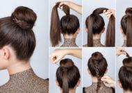 مدل موی ساده روزانه