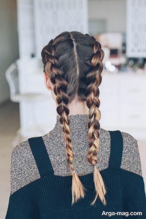 مدل موی زیبا و ساده