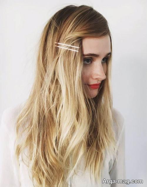 آرایش موی باز