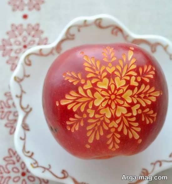 تزیین زیبای سیب هفت سین