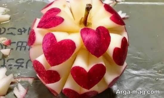 تزیین سیب سفره هفت سین