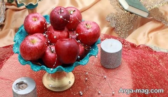 تزیین سیب هفت سین+عکس