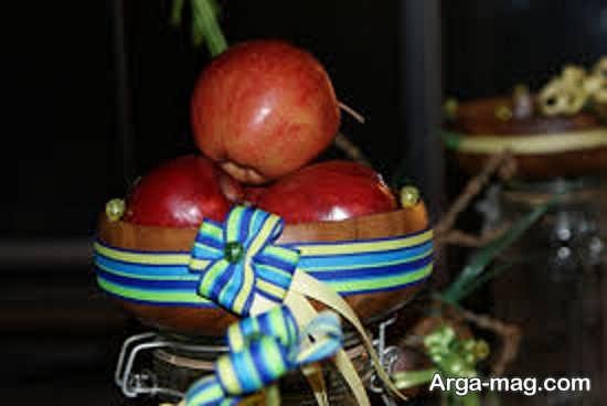 تزیین سیب هفت سین