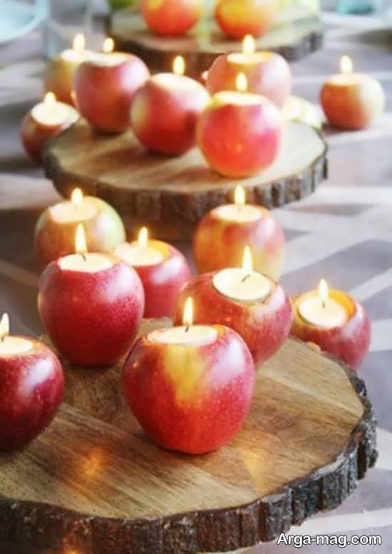 دیزاین سیب سفره هفت سین