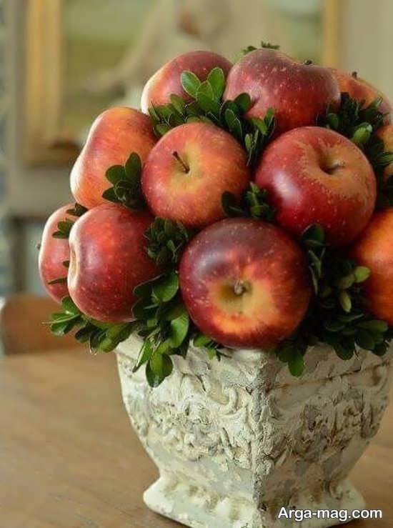 دیزاین شکیل سیب میز هفت سین