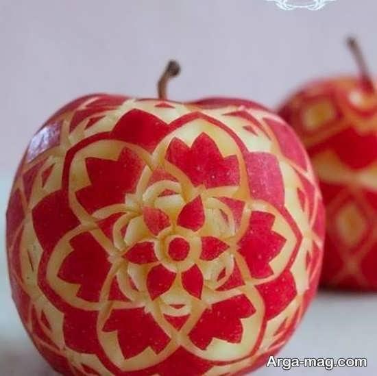 تزیینات سیب سفره هفت سین