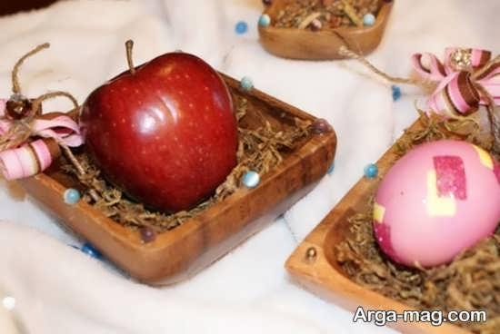 تزیینات شیک سیب هفت سین