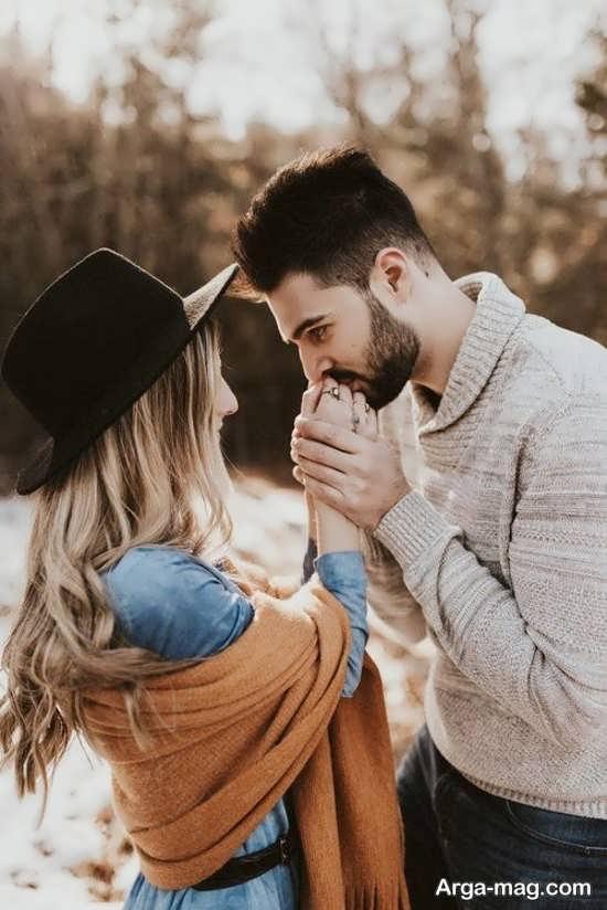 عکس عاشقانه و احساسی دو نفره برای پروفایل