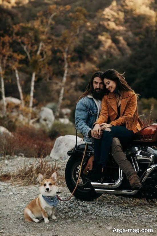 عکس عاشقانه و رمانتیک دونفره بدون متن