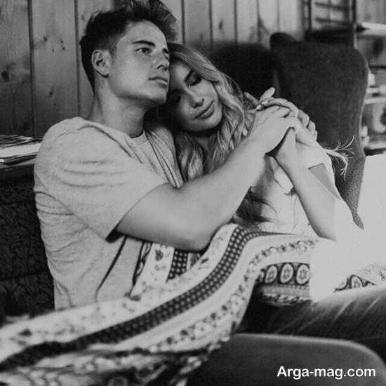 عکس دونفره بدون متن خاص و عاشقانه