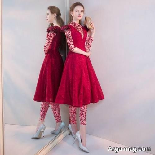 لباس مجلسی دخترانه ساده