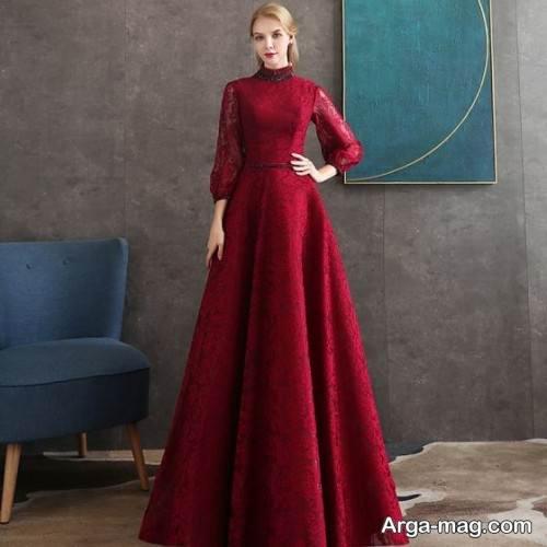 لباس آستین دار دخترانه
