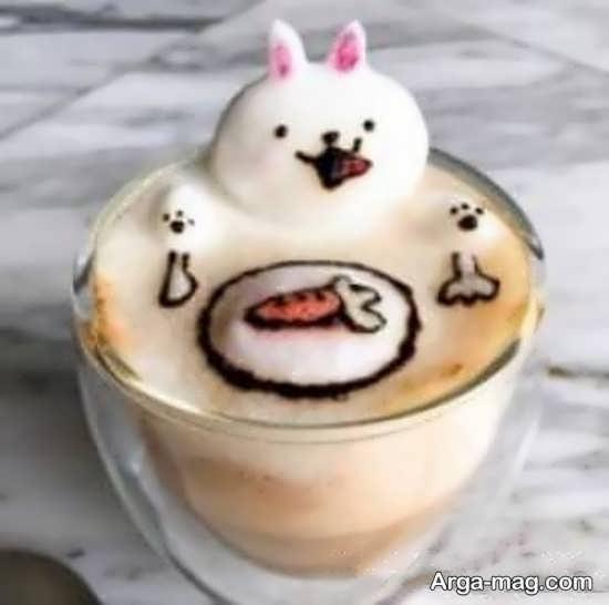 تزیین قهوه