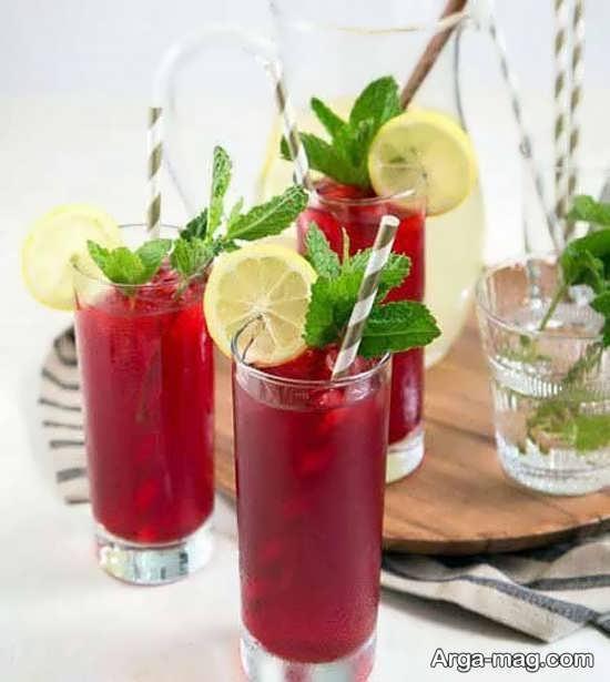 میوه آرایی نوشیدنی