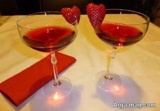 نوشیدنی برای مناسبت ولنتاین