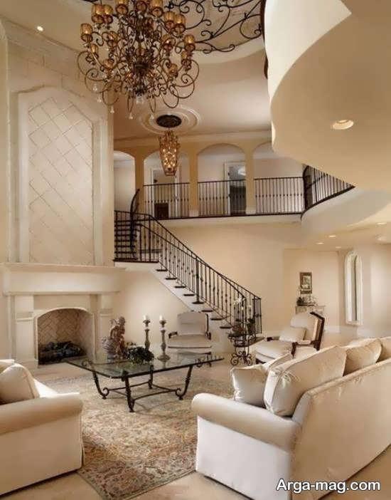 دیزاین داخلی خانه دوبلکس