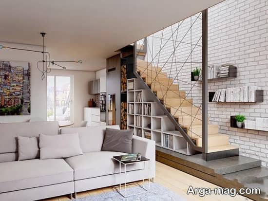 معماری زیبای خانه دوبلکس