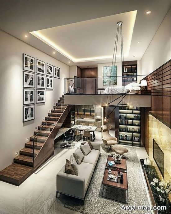 مدل دکوراسیون خانه دوبلکس