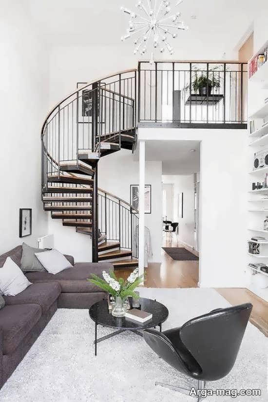 دیزاین فوق العاده خانه دوبلکس
