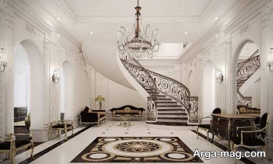 دیزاین زیبای خانه دوبلکس